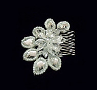 Women's Crystal/Alloy/Imitation Pearl Headpiece - Wedding/Special Occasion Hair Combs