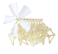 Plastic DIY Puzzle Brain Teaser Windmill