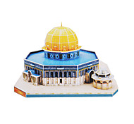 34 Pieces DIY Architecture 3D Puzzle Jerusalem Dome of the Rock (difficulty 4 of 5)