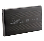 "2.5"" Alluminum USB 2.0 SATA HDD External Hard Drive Case Enclosure"