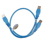 USB 2.0 Mobile HDD Cable (0.8m, 3A)