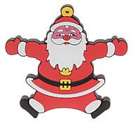 4 GB de Navidad Santa Claus 3 USB 2.0 Flash Drive