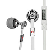 Syllable In-Ear Headphones with MIC and Remote for MP3,MP4,Phone,PC G19