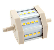 6W R7S LED Corn Lights T 12 SMD 5630 600 lm Warm White AC 85-265 V
