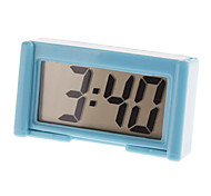 "2"" LCD Mini Digital Clock Calendar with Holder (Assorted Colors)"
