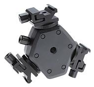 Soporte de Flash Hot Shoe FLH-11 Soporte de montaje giratorio Light Stand para Canon Nikon