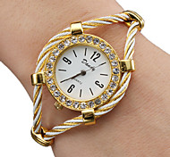 Women's Watch Diamante Case Elegant Alloy Bracelet Cool Watches Unique Watches Fashion Watch