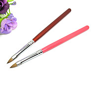 1pcs Wood UV Gel Nail Art Pen