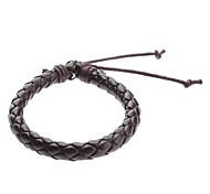 Z&X®  Single Color Cow Leather Cord Bracelet