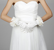 Wrist Length Fingertips Glove - Satin Bridal Gloves/Party/ Evening Gloves