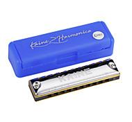 Kaine - (K1003) Blues Harp Harmonica 10 Holes/20 Tones