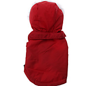 Sleeveless Windproof Down Jacket for Dogs (Red,XS-XL)