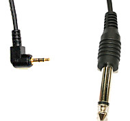 2.5mm-6,35 milímetros o Flash PC Sync Cable para PE-16NE/Yongnuo Receptor RF-602/JY-2004