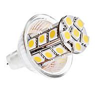 4W GU4(MR11) LED a pannocchia MR11 24 SMD 5050 360 lm Bianco caldo / Luce fredda DC 12 V