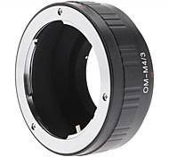 Olympus OM Lens to Micro 4/3 Four Thirds System Camera Mount Adapter for Olympus PEN E-P1, Panasonic Lumix DMC-GF1, GH1, G1