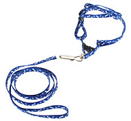Pets' Tral Pattern Dog Leash & Collar (Assorted Color)