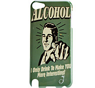 Man Pattern Hard Case for iTouch 5
