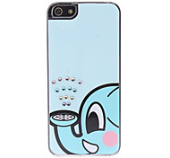 Cartoon Elephant Pattern Hard Case for iPhone 5/5S