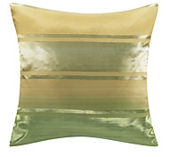Classic Green Polyester Decorative Pillow Cover