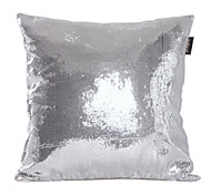 Modern Solid Bling Polyester Decorative Pillow Cover