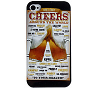 Cheers Pattern Hard Case voor iPhone 4/4S