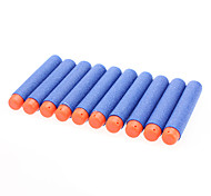 Blue Sponge Toy Gun Bullet (10-Pack)