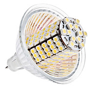 GU5.3(MR16) LED a pannocchia MR16 120 SMD 3528 420 lm Bianco caldo DC 12 V