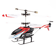 Palm Grootte i-Control Helicopter voor iPhone (Model: i348, Rood)