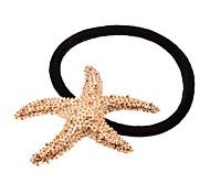 Simple Metal Starfish Design Hair Band for Pets