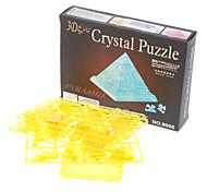 Pyramid 3D Crystal Puzzle (38pcs, Model:9005, Random Color)