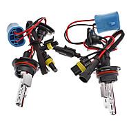 9004/H HID Xenon High Beam/Halogen Low Beam HID Lamp Bulbs for Car Headlight (12V-35W, 2-Piece)