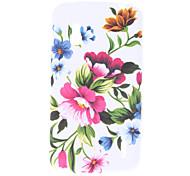 Blumenmuster Soft Case für LG E960 Nexus 4