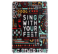 Sing With Your Feet Design Hard Case for iPad mini 3, iPad mini 2, iPad mini