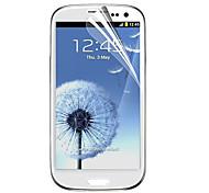 Material PET Samsung Tela Protecter para i9300 (Filme Transparente)