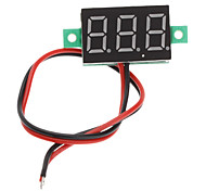 "V20D 0.56"" LED Two Line 3-Digital Direct-Current Voltmeter Meter Module (White + Green, DC 2.5~30V)"