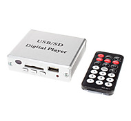 Mini MP3 USB SD Amplificador Digital Player com controle remoto