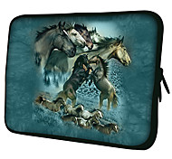 "Paarden Patroon 7 ""/ 10"" / 13 ""Laptop Sleeve Case voor MacBook Air Pro / Ipad Mini / Galaxy Tab2/Sony/Google Nexus 18214"