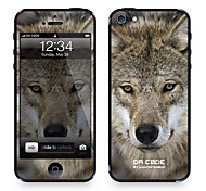 """Codice Da ™ Pelle per iPhone 4/4S: """"Wolf"""" (serie animali)"""