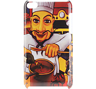Cook Pattern Hard Case for iPod Touch 4