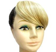 Synthétique de haute qualité Lumière Blonde Bangs