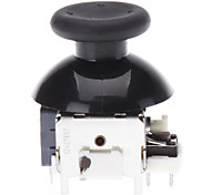 Substituição Rocker Joystick Cap Mushroom Caps Shell 3D para XBOX360 Wireless Controller (preto)