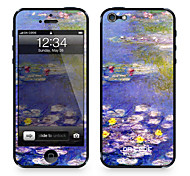 "Codice Da ™ Pelle per iPhone 4/4S: ""Ninfee"" di Claude Monet (Masterpieces Series)"