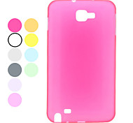 Plástico durable Samsung Mobile Phone Back Covers para Galaxy I9220 (10 colores)