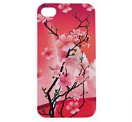 Modèle Blossom Peach Housse de protection rigide pour iPhone 4/4S