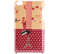 Eiffel Tower Pattern Hard Case for iPod Touch 4