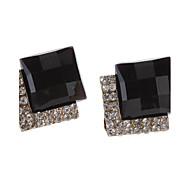 Tangenciais Brincos diamante jóia