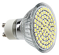GU10 3.5 W 80 SMD 3528 300 LM Natural White MR16 Spot Lights AC 220-240 V