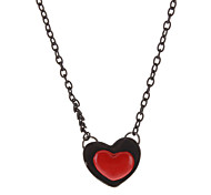 Heart-shaped Alloy Necklace