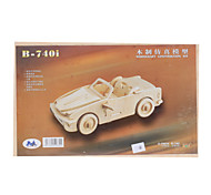 B-740i Runabout DIY Wooden 3D Puzzle Jigsaw Construction Kit (Model:G-P067A)
