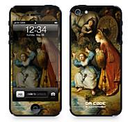 """Codice Da ™ Pelle per iPhone 4/4S: """"Il ratto di Europa"""" di Rembrandt Harmensz van Rijn (Masterpieces Series)"""
